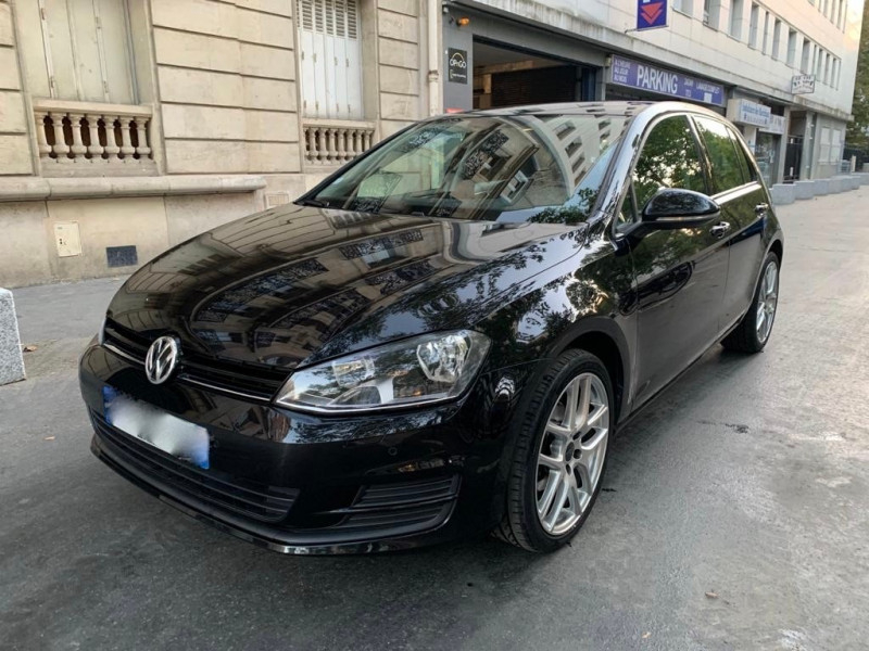 Volkswagen GOLF VII 1.2 TSI 85CH BLUEMOTION TECHNOLOGY CONFORTLINE 5P Essence NOIR Occasion à vendre