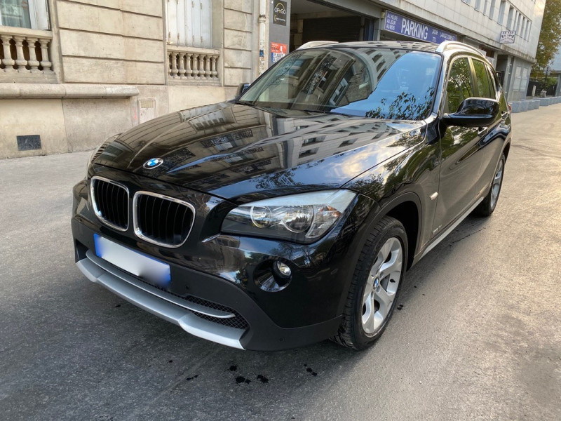 Bmw X1 (E84) SDRIVE18I 150CH BUSINESS Essence NOIR Occasion à vendre